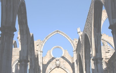 Ruins of the Carmo Convent – a reflection of the earthquake