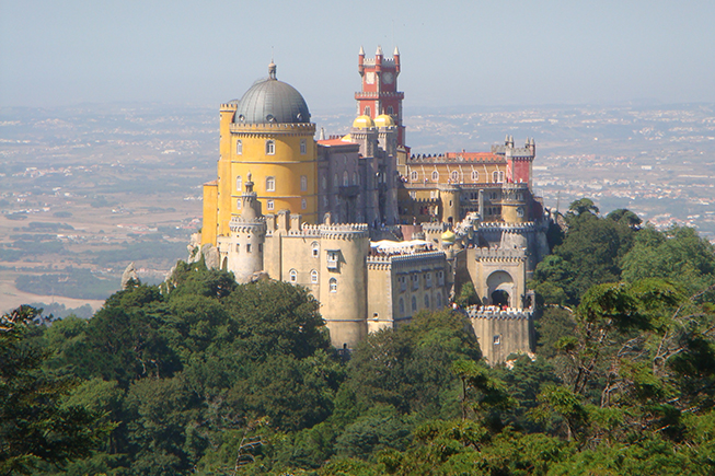 Pena Palace –  the treasure of Sintra